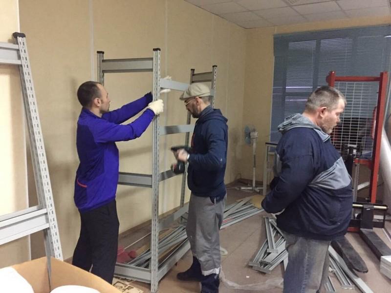 переезд с грузчиками в СПб