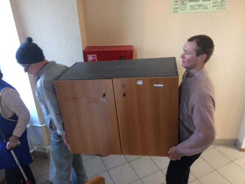 подъем мебели